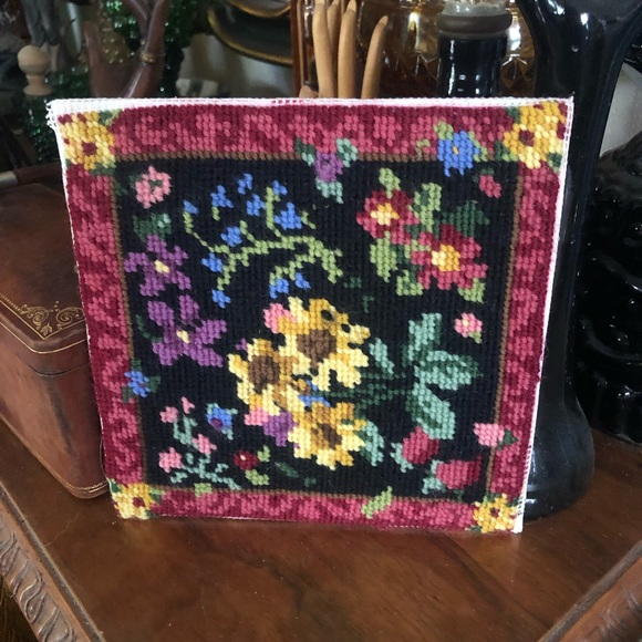 Vintage Framable Cross-stitch